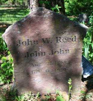 "REED, JOHN W  ""JOHN JOHN"" - Crawford County, Arkansas 