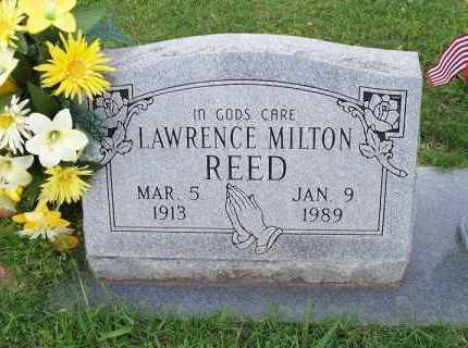 REED, LAWRENCE MILTON - Crawford County, Arkansas | LAWRENCE MILTON REED - Arkansas Gravestone Photos