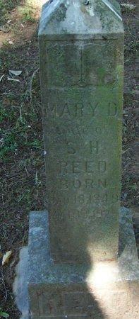 REED, MARY D - Crawford County, Arkansas | MARY D REED - Arkansas Gravestone Photos