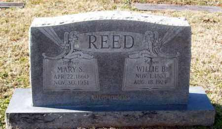 REED, WILLIE B - Crawford County, Arkansas | WILLIE B REED - Arkansas Gravestone Photos