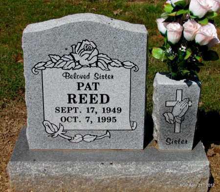 REED, PAT - Crawford County, Arkansas   PAT REED - Arkansas Gravestone Photos