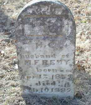 REMY, H. C. - Crawford County, Arkansas | H. C. REMY - Arkansas Gravestone Photos