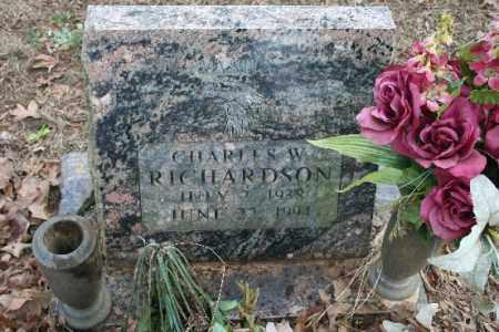 RICHARDSON, CHARLES - Crawford County, Arkansas   CHARLES RICHARDSON - Arkansas Gravestone Photos