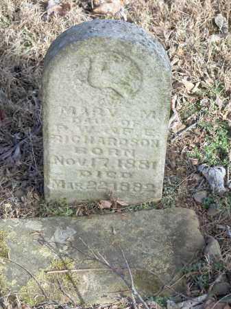 RICHARDSON, MARY M. - Crawford County, Arkansas   MARY M. RICHARDSON - Arkansas Gravestone Photos