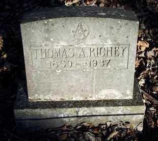 RICHEY, THOMAS A. - Crawford County, Arkansas | THOMAS A. RICHEY - Arkansas Gravestone Photos
