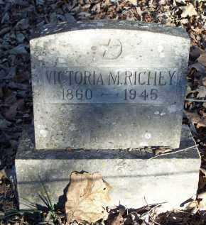 RICHEY, VICTORIA M. - Crawford County, Arkansas   VICTORIA M. RICHEY - Arkansas Gravestone Photos