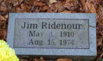 RIDENOUR, JIM - Crawford County, Arkansas | JIM RIDENOUR - Arkansas Gravestone Photos