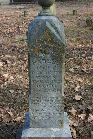 RILEY, PARLEE - Crawford County, Arkansas | PARLEE RILEY - Arkansas Gravestone Photos