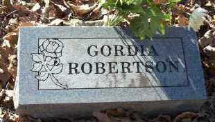 ROBERTSON, GORDIA - Crawford County, Arkansas   GORDIA ROBERTSON - Arkansas Gravestone Photos