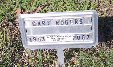 ROGERS, GARY - Crawford County, Arkansas | GARY ROGERS - Arkansas Gravestone Photos