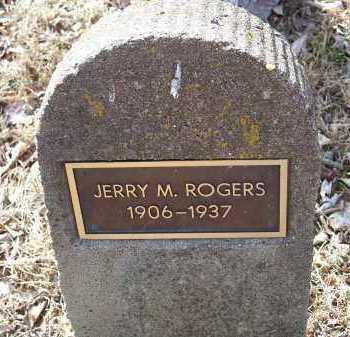 ROGERS, JERRY M. - Crawford County, Arkansas | JERRY M. ROGERS - Arkansas Gravestone Photos
