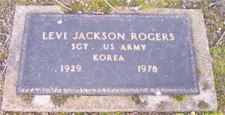 ROGERS (VETERAN KOR), LEVI JACKSON - Crawford County, Arkansas | LEVI JACKSON ROGERS (VETERAN KOR) - Arkansas Gravestone Photos