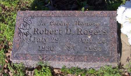 ROGERS, ROBERT D - Crawford County, Arkansas   ROBERT D ROGERS - Arkansas Gravestone Photos