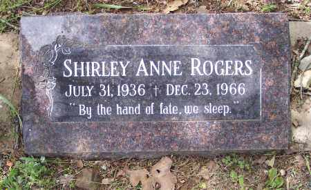 ROGERS, SHIRLEY ANNE - Crawford County, Arkansas | SHIRLEY ANNE ROGERS - Arkansas Gravestone Photos