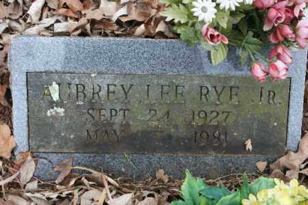 RYE, JR, AUBREY LEE - Crawford County, Arkansas   AUBREY LEE RYE, JR - Arkansas Gravestone Photos