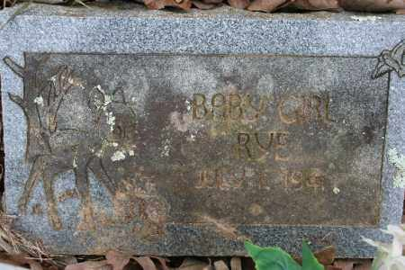RYE, BABY GIRL - Crawford County, Arkansas | BABY GIRL RYE - Arkansas Gravestone Photos
