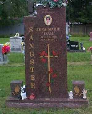 SANGSTER, EDNA MARIE - Crawford County, Arkansas | EDNA MARIE SANGSTER - Arkansas Gravestone Photos