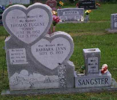 """SANGSTER, THOMAS EUGENE """"TOMMY"""" - Crawford County, Arkansas 