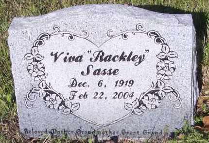 RACKLEY SASSE, VIVA L - Crawford County, Arkansas | VIVA L RACKLEY SASSE - Arkansas Gravestone Photos