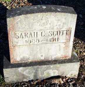 SCOTT, SARAH C. - Crawford County, Arkansas | SARAH C. SCOTT - Arkansas Gravestone Photos