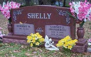 WONDERLY SHELLY, GARNET J - Crawford County, Arkansas   GARNET J WONDERLY SHELLY - Arkansas Gravestone Photos