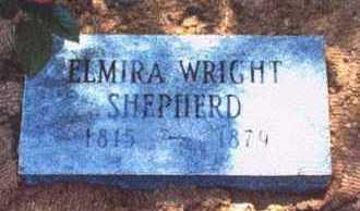 WRIGHT SHEPHERD, ELMIRA - Crawford County, Arkansas   ELMIRA WRIGHT SHEPHERD - Arkansas Gravestone Photos