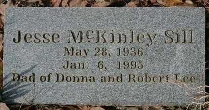 SILL, JESSE MCKINEY - Crawford County, Arkansas | JESSE MCKINEY SILL - Arkansas Gravestone Photos