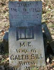 SILL, M  E - Crawford County, Arkansas | M  E SILL - Arkansas Gravestone Photos