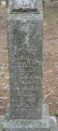 SILL  (VETERAN UNION), SAMUEL C. - Crawford County, Arkansas   SAMUEL C. SILL  (VETERAN UNION) - Arkansas Gravestone Photos