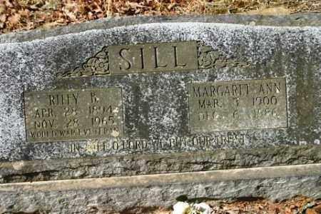 SILL, MARGARET ANN - Crawford County, Arkansas | MARGARET ANN SILL - Arkansas Gravestone Photos