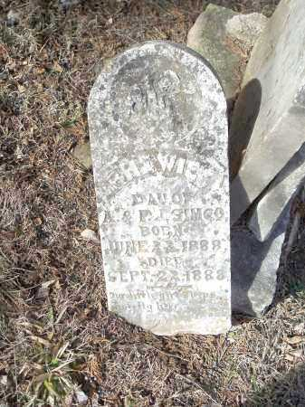 SIMCO, [H]HEWIE - Crawford County, Arkansas | [H]HEWIE SIMCO - Arkansas Gravestone Photos