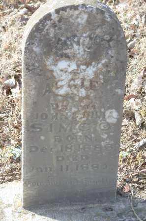 SIMCO, AGGIE - Crawford County, Arkansas | AGGIE SIMCO - Arkansas Gravestone Photos