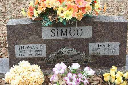 SIMCO, IVA P - Crawford County, Arkansas | IVA P SIMCO - Arkansas Gravestone Photos