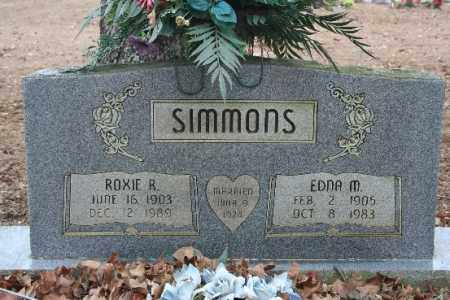 SIMMONS, ROXIE R - Crawford County, Arkansas | ROXIE R SIMMONS - Arkansas Gravestone Photos