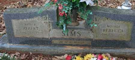 SIMS, ALBERT - Crawford County, Arkansas | ALBERT SIMS - Arkansas Gravestone Photos