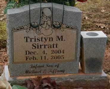 SIRRATT, TRISTYN M - Crawford County, Arkansas | TRISTYN M SIRRATT - Arkansas Gravestone Photos