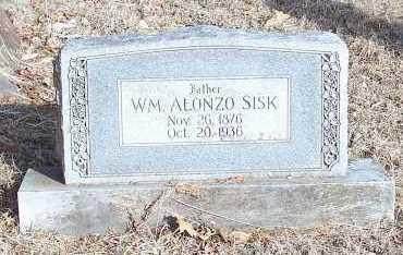 SISK, WM. ALONZO - Crawford County, Arkansas | WM. ALONZO SISK - Arkansas Gravestone Photos