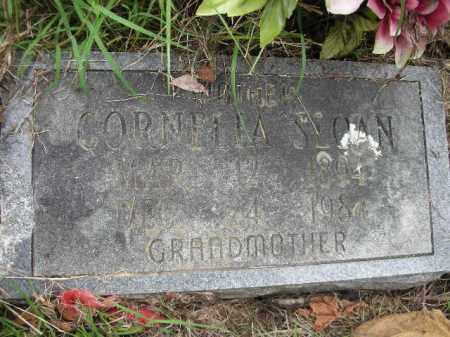 SLOAN, CORNELIA - Crawford County, Arkansas   CORNELIA SLOAN - Arkansas Gravestone Photos