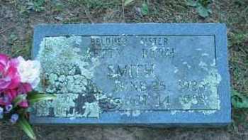 SMITH, BETTY RUTH - Crawford County, Arkansas | BETTY RUTH SMITH - Arkansas Gravestone Photos