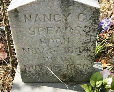 SPEARS, NANCY C - Crawford County, Arkansas | NANCY C SPEARS - Arkansas Gravestone Photos