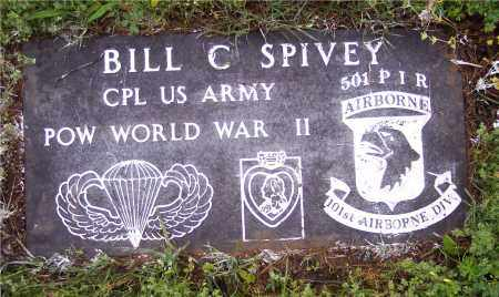 SPIVEY (VETERAN WWII POW), BILL C - Crawford County, Arkansas | BILL C SPIVEY (VETERAN WWII POW) - Arkansas Gravestone Photos