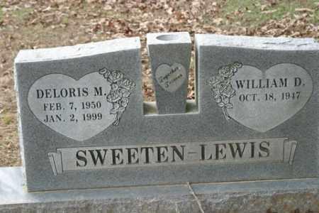 SWEETEN LEWIS, DELORIS M. - Crawford County, Arkansas   DELORIS M. SWEETEN LEWIS - Arkansas Gravestone Photos