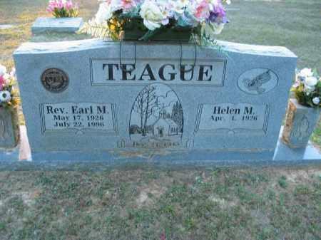 TEAGUE, EARL M. - Crawford County, Arkansas | EARL M. TEAGUE - Arkansas Gravestone Photos