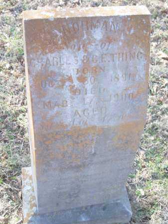 THING, NORMAN - Crawford County, Arkansas   NORMAN THING - Arkansas Gravestone Photos