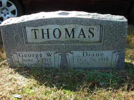 THOMAS, GEORGE W. - Crawford County, Arkansas | GEORGE W. THOMAS - Arkansas Gravestone Photos