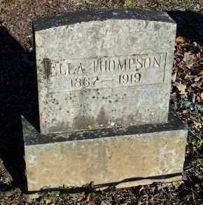 THOMPSON, ELLA - Crawford County, Arkansas | ELLA THOMPSON - Arkansas Gravestone Photos
