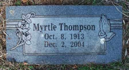THOMPSON, MYRTLE - Crawford County, Arkansas   MYRTLE THOMPSON - Arkansas Gravestone Photos