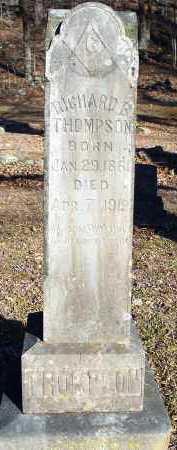THOMPSON, RICHARD B. - Crawford County, Arkansas | RICHARD B. THOMPSON - Arkansas Gravestone Photos