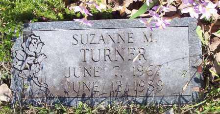 TURNER, SUZANNE M - Crawford County, Arkansas | SUZANNE M TURNER - Arkansas Gravestone Photos