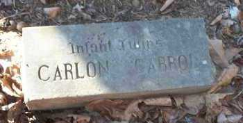 UNKNOWN-POSSIBLY FRIDDLE, CARLON - Crawford County, Arkansas | CARLON UNKNOWN-POSSIBLY FRIDDLE - Arkansas Gravestone Photos